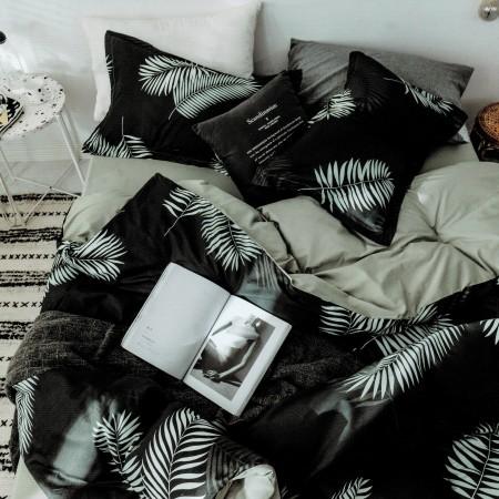 【PLAY BOY】100%精梳棉刺繡床包兩用被組《PY02》