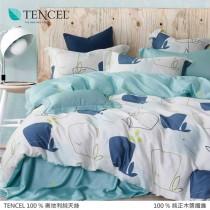 100%頂級奧地利純天絲床罩組八件式 《A001》