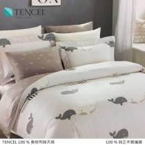 100%頂級奧地利純天絲床罩組八件式 《A068》