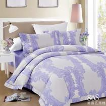 100%美國頂級80S匹馬棉八件式床罩組《依芙》