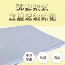 3D蜂巢式立體透氣床墊