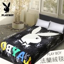 多功能萬用毯‧能鋪能蓋超保暖《黑彩兔兔》
