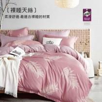 3M專利吸濕排汗X最適合裸睡的材質-裸睡天絲兩用被床包組《洛絲》