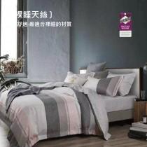 3M專利吸濕排汗X最適合裸睡的材質-裸睡天絲兩用被床包組《慕尚》