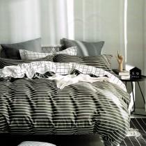 【PLAY BOY】100%精梳棉刺繡床包兩用被組《PY01》
