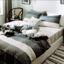 【PLAY BOY】100%精梳棉刺繡床罩兩用被組《PY05》