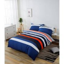 【超舒柔雲絲棉】加大日式鋪棉床包兩用被四件組