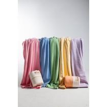 馬卡龍七色早安毛毯  Morning Blanket