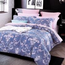 3M專利吸濕排汗X最適合裸睡的材質-裸睡天絲床包枕套組-淡淡的愛戀