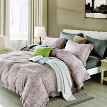 3M專利吸濕排汗X最適合裸睡的材質-裸睡天絲床包枕套組-花韻