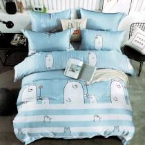 3M專利吸濕排汗X最適合裸睡的材質-裸睡天絲床包枕套組-簡愛